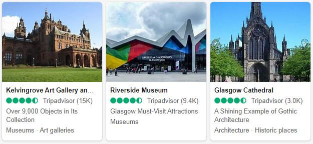 Glasgow Attractions