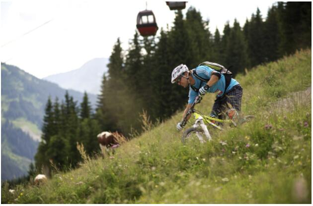 Saalbach is at its best in the heart of winter