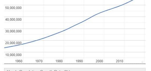South Africa Population Graph