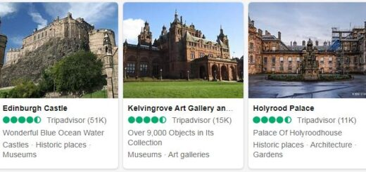 Scotland Attractions