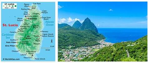 St Lucia Geography